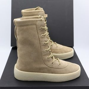 a71dda4e63f1f Yeezy Shoes - Yeezy Season 2 Suede Crepe Sole Boots